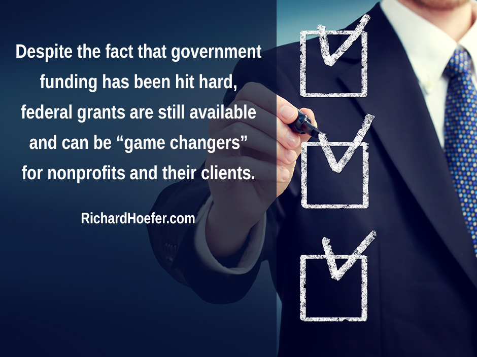 Despite the fact that government funding
