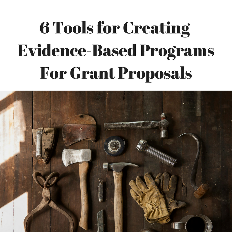 Finding tools for Evidence Based Programs