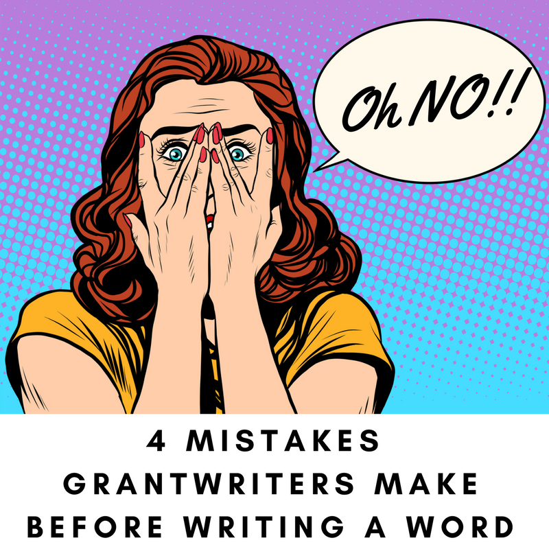 4 Mistakes GWs Make Before Writing